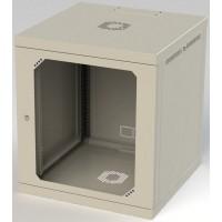 Шкаф настенный 12U, 570X580X665 ММ (Ш*Г*В), акриловое стекло