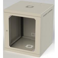 Шкаф настенный 12U, 570X450X665 ММ (Ш*Г*В), акриловое стекло