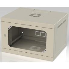 Шкаф настенный 6U, 570X450X580 ММ (Ш*Г*В), акриловое стекло