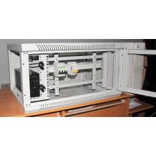 Шкаф настенный 9U, 700X450X525 ММ (Ш*Г*В), расширенный
