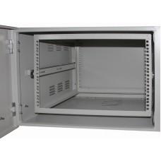 Шкаф антивандальный VA 12U, глубина 450мм, для внешнего монтажа