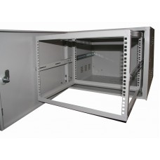 Шкаф антивандальный VA 7U, глубина 450мм, для внешнего монтажа