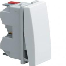 Выключатель универсальный 1М Systo белый, 10А/250В