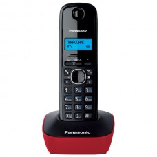 Panasonic KX-TG1611UAR Black Red, радиотелефон DECT