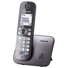 Panasonic KX-TG6811UAM, Metallic радиотелефон DECT