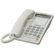 Panasonic KX-TS2365UAW White, проводной телефон