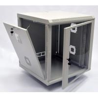 Монтажный шкаф 18U, 600х600х907мм (Ш*Г*В), акриловое стекло, серый, серия MGSWA