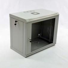 Монтажный шкаф 9U, 600х350х507 мм (Ш*Г*В), эконом, акриловое стекло, серия MGSWL