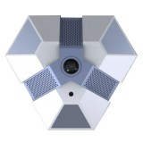 2MP-DOM-1.8, FishEye 2 мега IP-камера 2.8мм, WDR, PoE, Audio