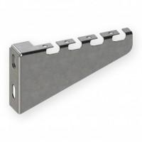 Кронштейн настенный для сетчатого лотка 100 мм, быстрого монтажа, 1,0 мм, оцинкованный