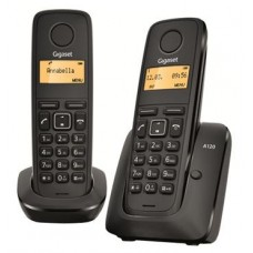 Gigaset A120 DUO Black, радиотелефон DECT
