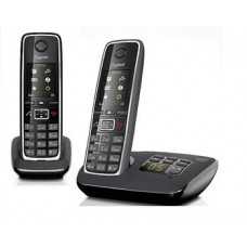 Gigaset C530A DUO Black, радиотелефон DECT с цифровым автоответчиком