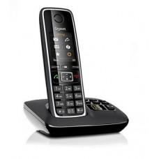 Gigaset C530A Black, радиотелефон DECT с цифровым автоответчиком