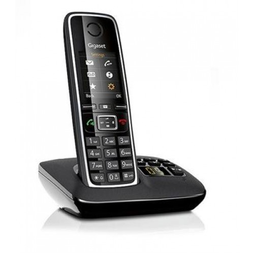 Радиотелефон Panasonic KX-TGH212 RUB Black