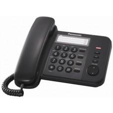 Panasonic KX-TS2352UAB Black, проводной телефон