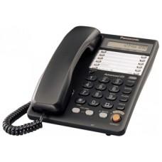 Panasonic KX-TS2365UAB Black, проводной телефон