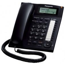 Panasonic KX-TS2388UAB Black, проводной телефон