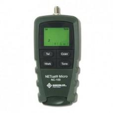 Greenlee NETcat Micro NC-100, кабельный тестер