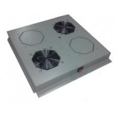 Модуль вентиляторный на 2 вентилятора, для напольных шкафов