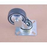 Колесо к шкафам полиамид-резина (d50) на площадке 40кг/колесо
