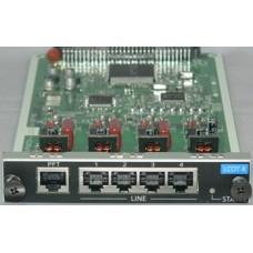 Panasonic KX-NCP1180X, Плата 4 внешних соединительных линий с Caller ID (FSK/DTMF)