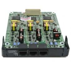 Panasonic KX-NS5180X, Плата 6 внешних соединительных линий с Caller ID (FSK/DTMF)