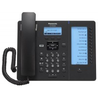 Panasonic KX-HDV230RUB Black, проводной sip-телефон