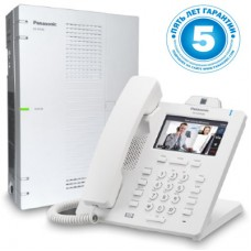 Panasonic KX-HTS824RU, ip атс - базовая конфигурация 4 внешних 8 внутренних линий