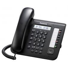 Panasonic KX-DT521RU Black, системный телефон