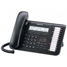 Panasonic KX-DT543RU Black, системный телефон