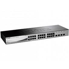 Коммутатор D-Link DGS-1210-28/ME (24-port Gigabit + 4-port Gb SFP) Smart III