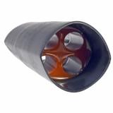 Термоусаживаемый кабельный ввод с гелем D40 мм (4х13 мм), тип B