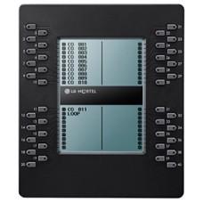 LIP-8040LSS, системная консоль 40 кнопок прямого набора