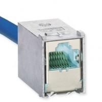 Модуль экранированный 10GBase-T, S10TEN, 1xRJ45, FutureCom, Corning (aqua)