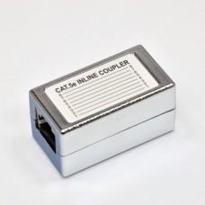 Сращиватель витой пары (cоединительная розетка), экранированный, под коннекторы, cat. 5e, EPNew