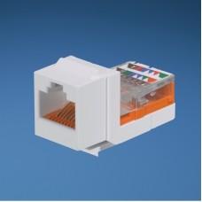 Модуль Keystone RJ45, кат. 5e, UTP, светло-белый, Panduit NetKey