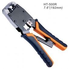 Инструмент для обжимания коннекторов 8C8P, 6PxC, профессиональный, с трещеткой, Hanlong