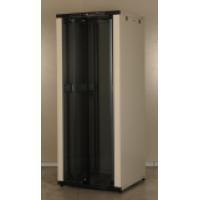Шкаф коммутационный напольный 42U 19'' 800х800 разборной, перф. перед и задняя дверь