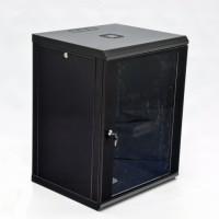 Монтажный шкаф 15U, 600х600х773 мм (Ш*Г*В), эконом, акриловое стекло, черный., серия MGSWL