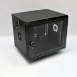 Монтажный шкаф 9U, 600х500х507 мм (Ш*Г*В), акриловое стекло, черный, серия  MGSWA