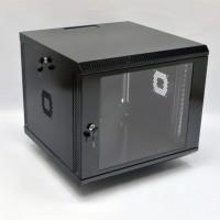 Монтажный шкаф 9U, 600х600х507 мм (Ш*Г*В), акриловое стекло, черный, серия MGSWA