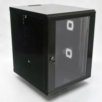 Монтажный шкаф 15U, 600х700х773 мм (Ш*Г*В), акриловое стекло, черный, серия MGSWA