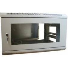 Шкаф коммутационный настенный, трехсекционный 9U 600x540 ш(61)*г(56)*в(50)