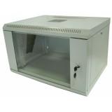 Шкаф коммутационный настенный 4U 600x300 разборной