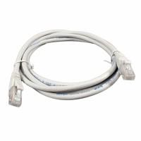 Патч-корд медный UTP кат. 6, 24AWG, 2.0 м, LSZH, серый