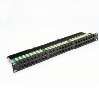 Патч-панель 48xRJ-45 UTP, кат. 6, 1U, dual type, EPNew