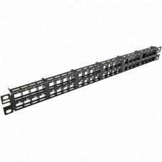 Патч-панель высокой плотности Net-Key, 48 портов, 1 U