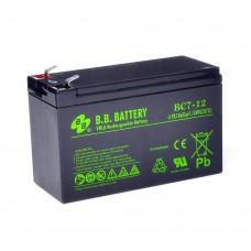 BB Battery BС 7-12, акумуляторна батарея