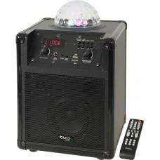 Ibiza Kube 60 Black Портативна переносна акустична система