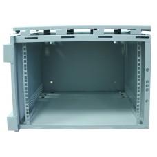 Шкаф антивандальный 9U, глубина 450мм